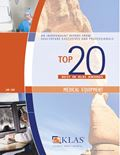 2008 Top 20 Best in KLAS Awards: Medical Equipment