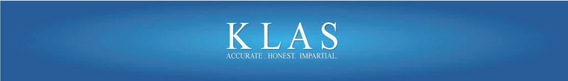 KLAS. Accurate. Honest. Impartial.