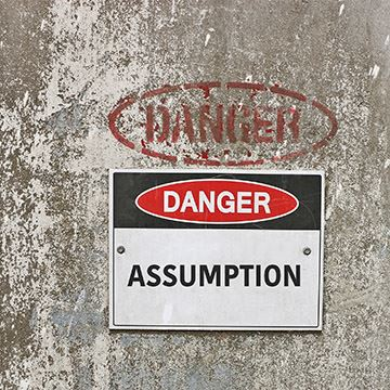 Leading Through Change: Don't Make Assumptions - Cover