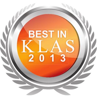 Best in KLAS 2013: Medical Equipment and Infrastructure - Cover