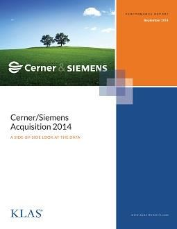 EMR Market Share by the Numbers: The Cerner/Siemens Acquisition, Part 2 - Cover