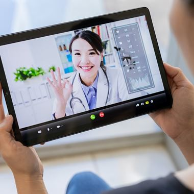 A Rose from the Pandemic: The Future of Telehealth - Cover