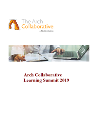 2019 Summit Slides - Arch Collaborative Learnings Part 1