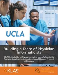 Building a Team of Physician Informaticists