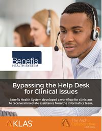 Bypassing the Help Desk for Clinical Issues