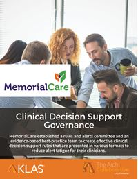 Clinical Decision Support Governance