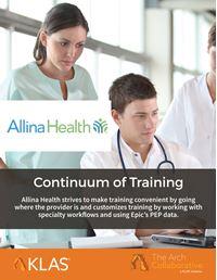 Continuum of Training