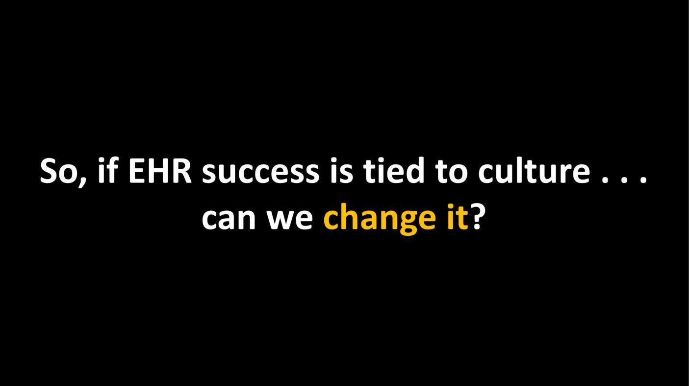 Culture of Success