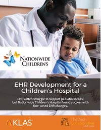 EHR Development for a Children's Hospital