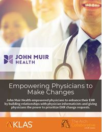 Empowering Physicians to Make Changes