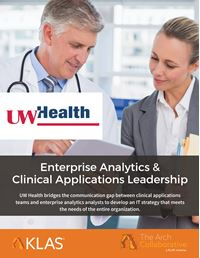 Enterprise Analytics and Clinical Applications Leadership