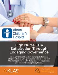 High Nurse Satisfaction through Engaging Governance