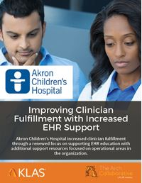 Improving Clinician Fulfillment with Increased EHR Support