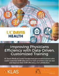 Improving Physicians Efficiency with Data-Driven, Customized Training