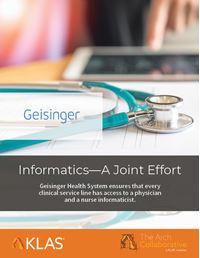 Informatics—A Joint Effort