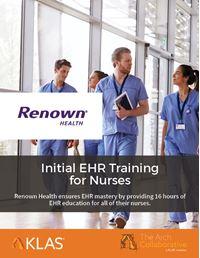Initial EHR Training for Nurses