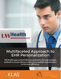 Multifaceted Approach to EHR Personalization