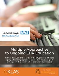 Multiple Approaches to Ongoing EHR Education