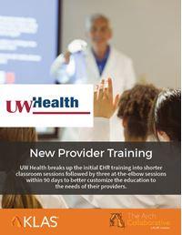 New Provider Training