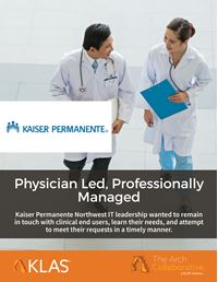 Physician Led, Professionally Managed