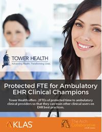 Protected FTE for Ambulatory EHR Clinical Champions
