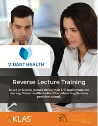 Reverse Lecture Training