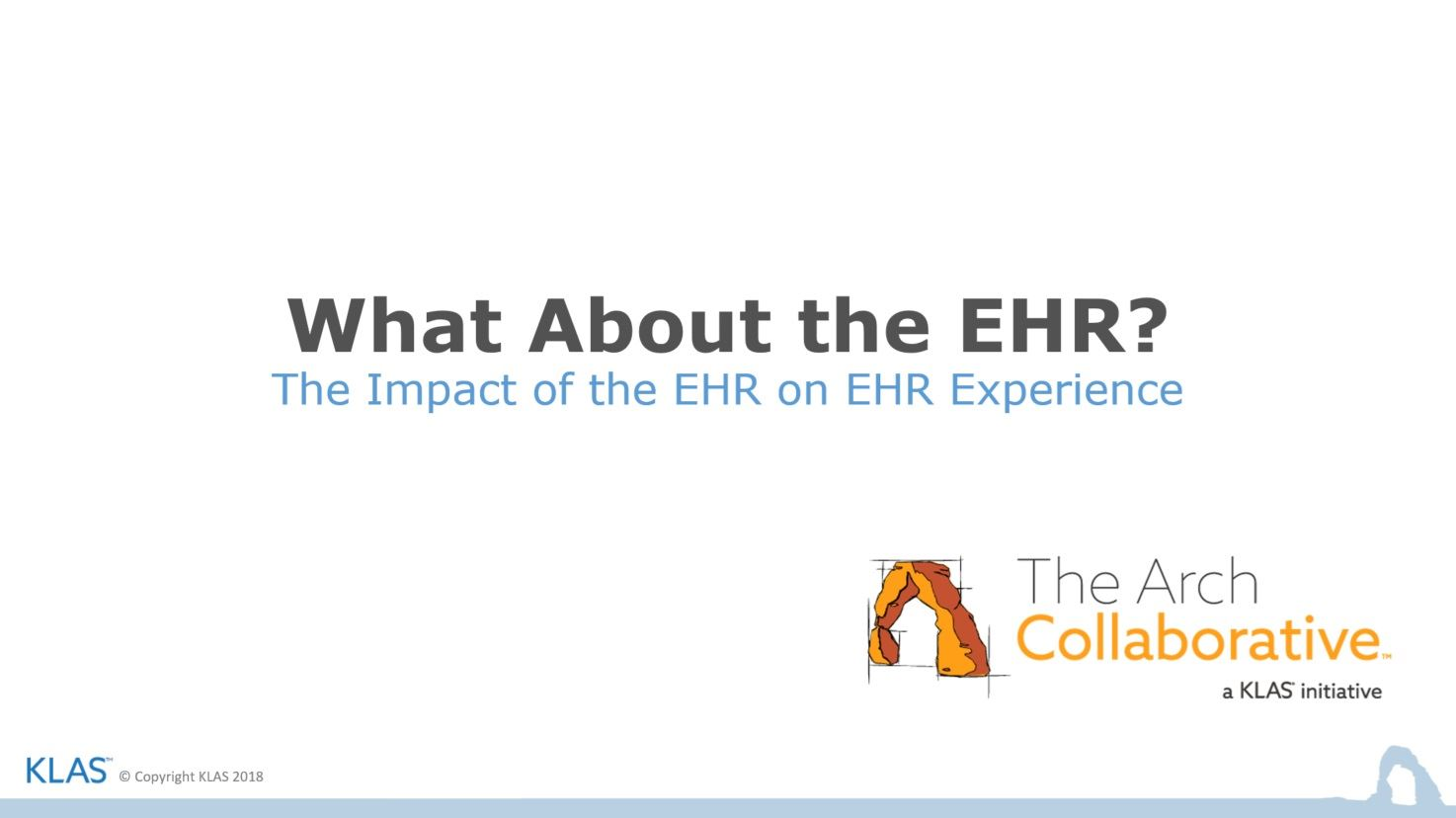 The Impact of the EHR