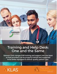 Training and Help Desk: One and the Same