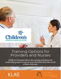 Training Options for Providers and Nurses