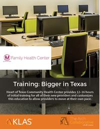 Training: Bigger in Texas