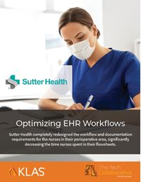 Optimizing EHR Workflows