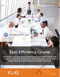 Epic Efficiency Course