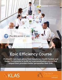 Epic Efficiency Course