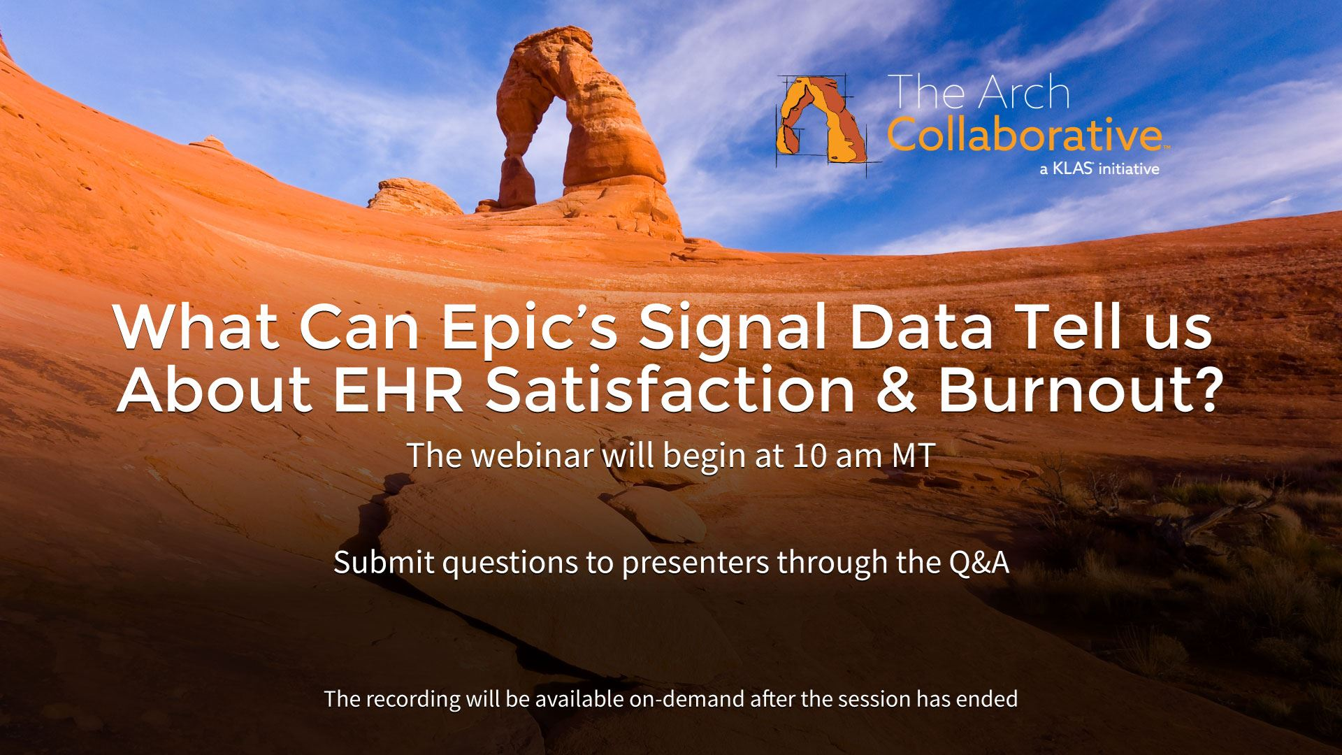 Epic's Signal Data and it's Relationship to EHR Satisfaction and Burnout