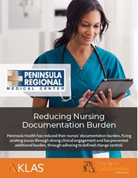 Reducing Nursing Documentation Burden