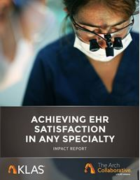 Achieving EHR Satisfaction in Any Specialty