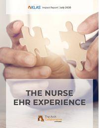 The Nurse EHR Experience 2020
