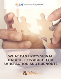 What Can Epic's Signal Data Tell Us About EHR Satisfaction and Burnout?