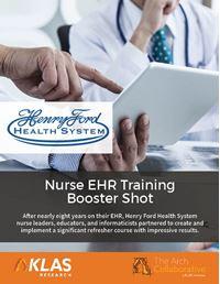 Nurse EHR Training Booster Shot