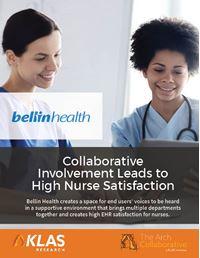 Collaborative Involvement Leads to High Nurse Satisfaction