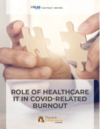 Role of Healthcare IT in COVID-Related Burnout