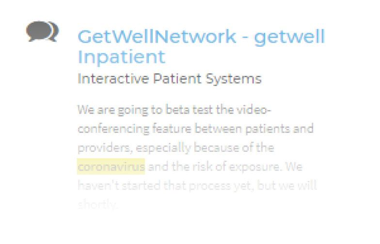 What are providers saying