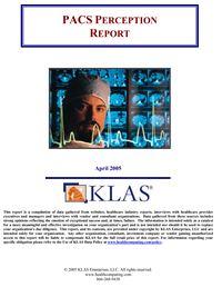 PACS Perception Report 2005