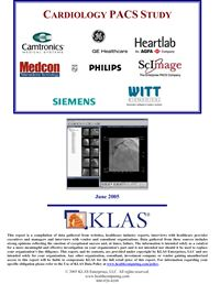 Cardiology PACS Study 2005