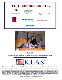 Full IT Outsourcing Study 2005