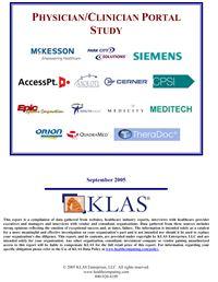 Clinical Portals Report 2005