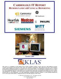 Cardiology Reporting and Hemodynamics Report 2005