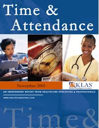 Time and Attendance Market Review 2005