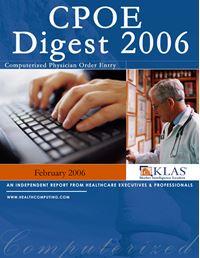 CPOE Digest 2006