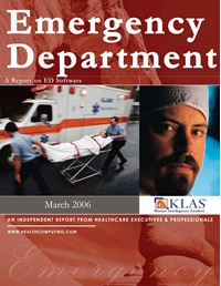 Emergency Department Report 2006